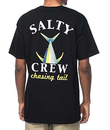 Salty Crew Chasing Tail camiseta negra