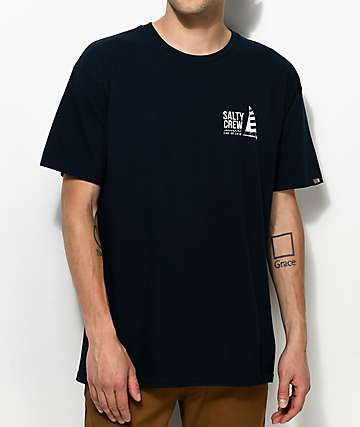 Salty Crew El Gato Navy T-Shirt