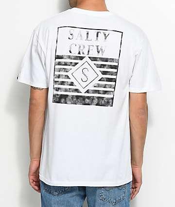 Salty Crew Horizon Line camiseta blanca