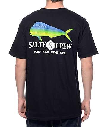 Salty Crew Mahi Black T-Shirt