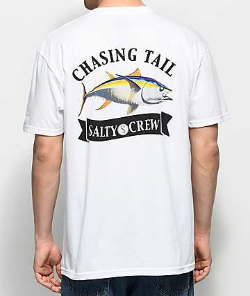 Salty Crew Sicklefin White T-Shirt