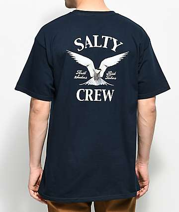 Salty Crew Signal Navy T-Shirt