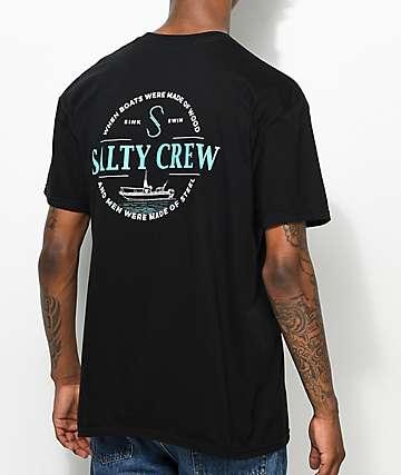Salty Crew Small Craft camiseta negra