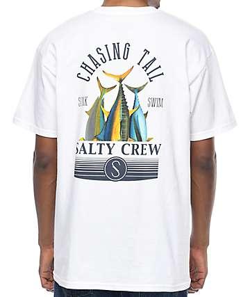 Salty Crew Tails Up camiseta blanca