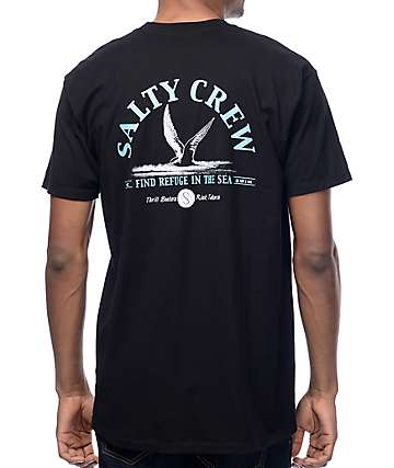 Salty Crew Tern Bird Black T-Shirt