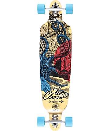 """San Clemente Kraken Racer 40"""" Drop Through Longboard Complete"""