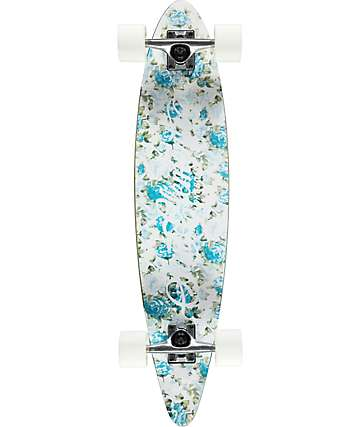 """San Clemente Palm Springs 34"""" pintail longboard completo"""