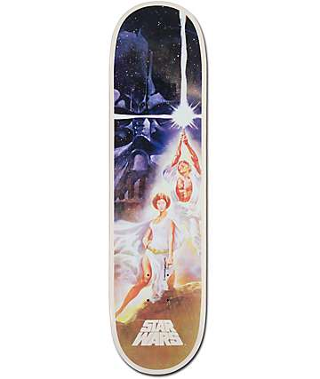 "Santa Cruz A New Hope Star Wars 8.0"" Skateboard Deck"