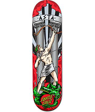 "Santa Cruz Asta Apollo 8.26"" Skateboard Deck"