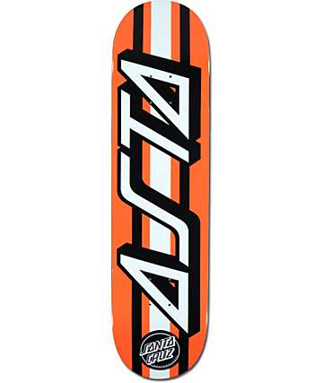 "Santa Cruz Asta Strip 8.0"" Skateboard Deck"