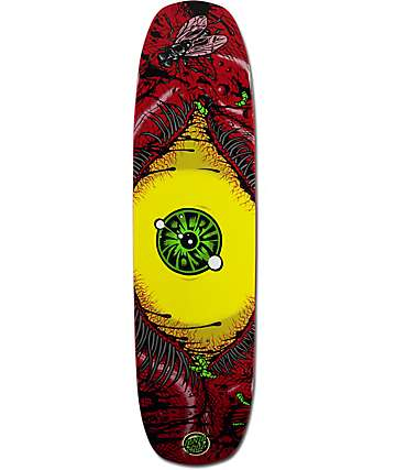 "Santa Cruz Bloodshot 8.24"" Skateboard Deck"