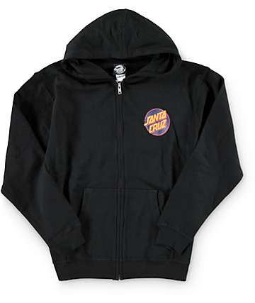 Santa Cruz Boys Other Dot Zip Up Hoodie