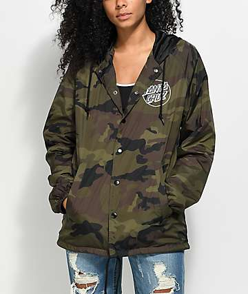 Santa Cruz Camo Coaches Jacket