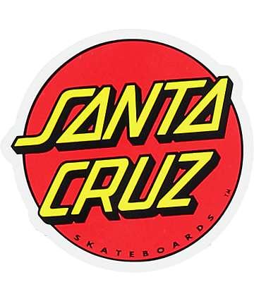 """Santa Cruz Classic Dot 3""""pegatina"""