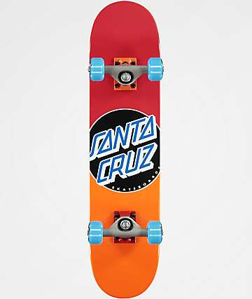 "Santa Cruz Classic Dot Fade 6.75"" Micro Skateboard Complete"