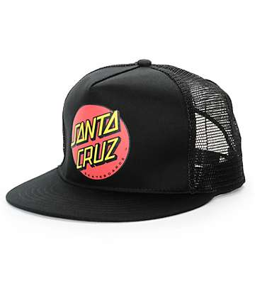 Santa Cruz Classic Dot Logo Trucker Hat