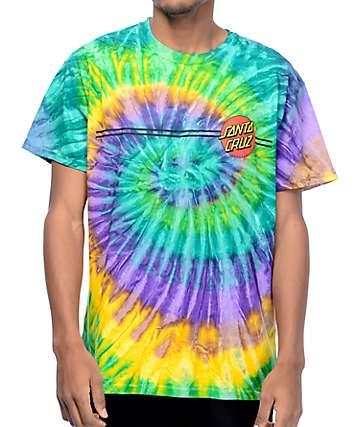 Santa Cruz Classic Dot Mardis Gras T-Shirt