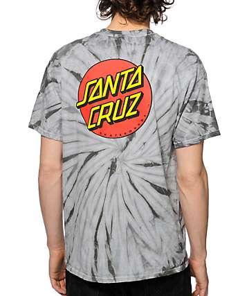Santa Cruz Classic Dot Tie Dye T-Shirt