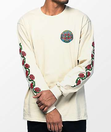 Santa Cruz Dressen Roses camiseta de manga larga