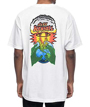 Santa Cruz End Of The World White T-Shirt