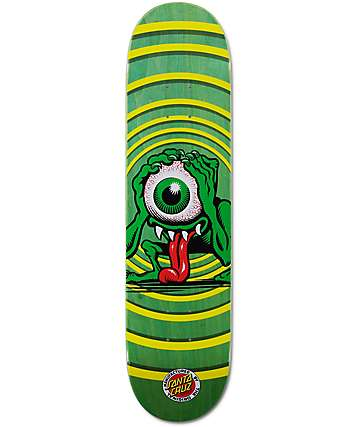 "Santa Cruz Eyegore 7.75""  Skateboard Deck"