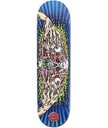 "Santa Cruz Face Melter 8.125""  Skateboard Deck"
