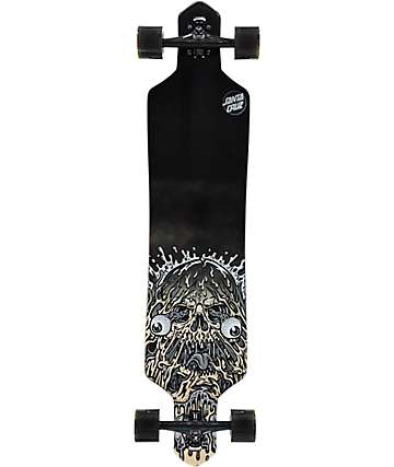 "Santa Cruz Face Ripper 41"" drop thru longboard completo"