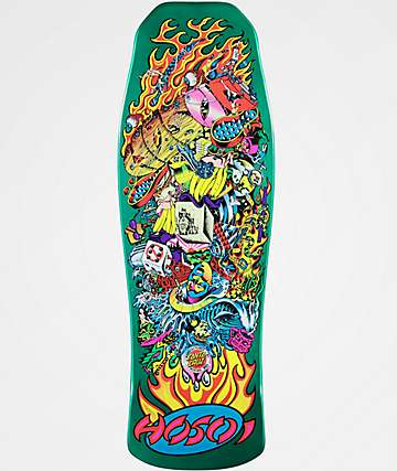 "Santa Cruz Hosoi Collage Re-Issue 10"" tabla de skate"