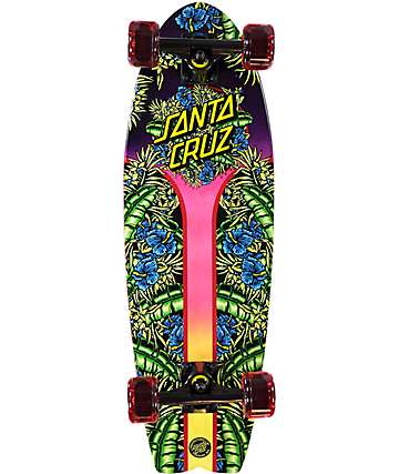 "Santa Cruz Island Sunset Land Shark 27.7"" Cruiser Complete Skateboard"