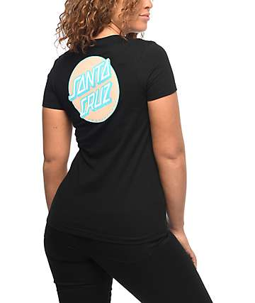 Santa Cruz Other Dot camiseta negra
