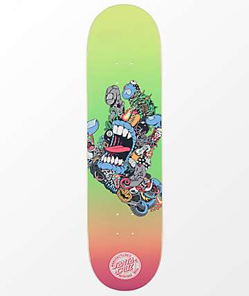 "Santa Cruz Pitchgrim Hand 8.25"" tabla de skate"