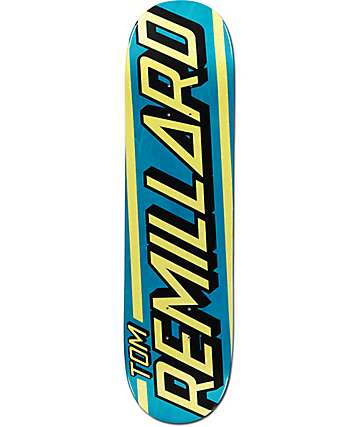 "Santa Cruz Remillard Strip 8.0"" Skateboard Deck"