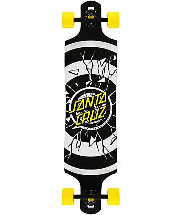 "Santa Cruz Rob Dot 40"" Drop Down Longboard"