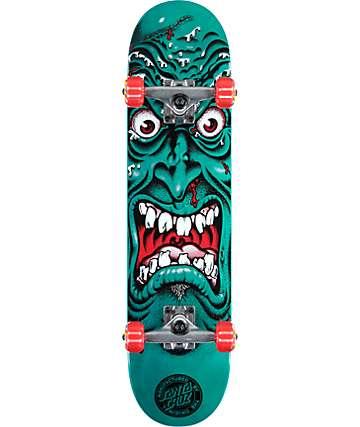 """Santa Cruz Roskopp Face 7.25"""" Skateboard Complete"""