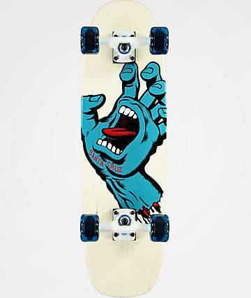 "Santa Cruz Screaming Hand 19.25"" completo de skate cruiser"