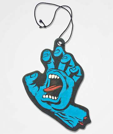 Santa Cruz Screaming Hand Air Freshener