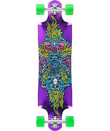 "Santa Cruz Sea God Cruz Control 37.97"" longboard completo"