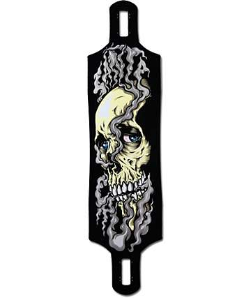 "Santa Cruz Shred Till Dead 41""  Drop Through Longboard Deck"