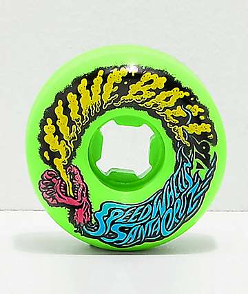 Santa Cruz Slime Balls 56mm Vomit Green Skateboard Wheels