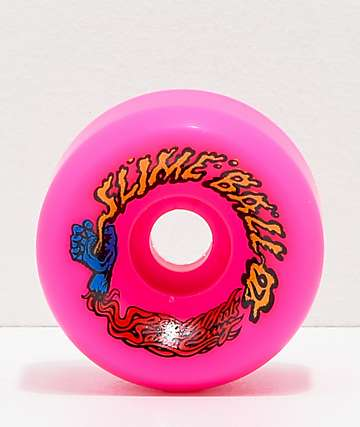 Santa Cruz Slime Balls 60mm Vomit Pink Cruiser Wheels