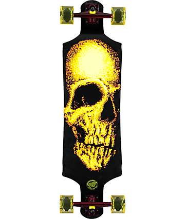 "Santa Cruz Street Creep 36.52"" longboard micro drop down completo"