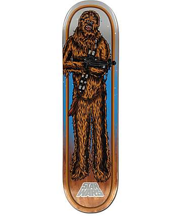 "Santa Cruz x Star Wars Chewbacca 8.25"" Skateboard Deck"