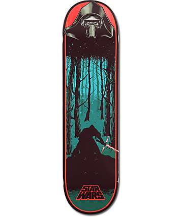 "Santa Cruz x Star Wars Episode VII Kylo Ren 8.26"" Skateboard Deck"