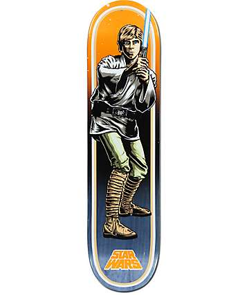 "Santa Cruz x Star Wars Luke Skywalker 7.8"" tabla de skate"