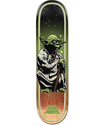 "Santa Cruz x Star Wars Yoda 8.0"" Skateboard Deck"