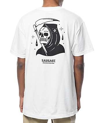 Sausage Reaper White T-Shirt