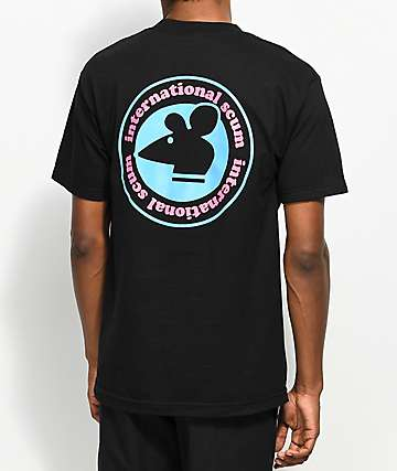 Scum International Scum Black T-Shirt