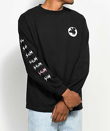 Scum Rat Black Long Sleeve T-Shirt