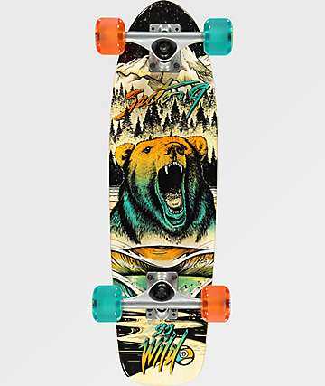 "Sector 9 Bambino Wilderness 27"" cruiser completo de skate"