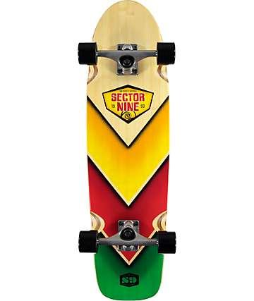 "Sector 9 Bamboozler 31.5"" Cruiser Complete Skateboard"